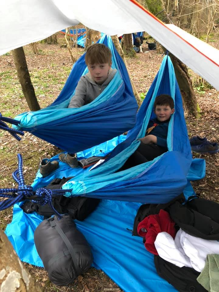 Scouts Back to Basic Camp 2019