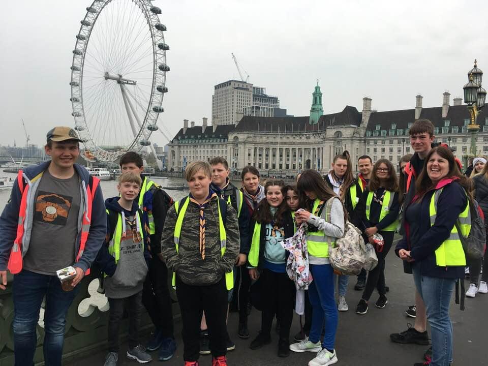 Scouts London Trip 2019