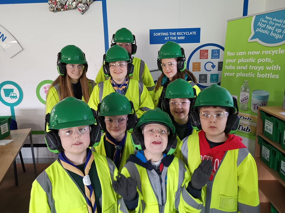 Cubs Green Mean Recycling Machine Camp 2019